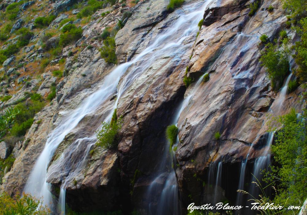 Cascada de los Litueros o Chorrera de los Litueros
